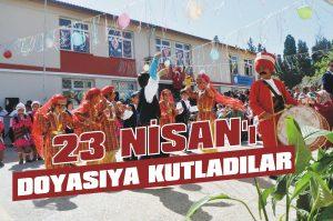 23 Nisan'ı doyasıya kutladılar