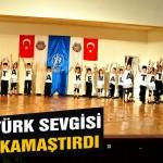 Atatürk sevgisi göz kamaştırdı