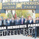 Adnan Menderes Parkı güzelleşti