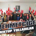Mehmetçiğe mektup yolladılar