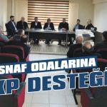 Esnaf Odalarına AKP desteği