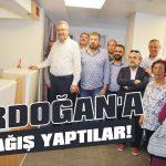 Erdoğan'a bağış yaptılar!