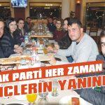 AK Parti her zaman gençlerin yanında