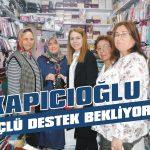 Kapıcıoğlu, güçlü destek bekliyor
