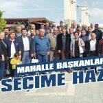 AKP'nin mahalle başkanları seçime hazır