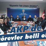 AKP'de görevler belli oldu