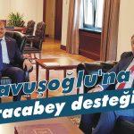 Çavuşoğlu'na Karacabey desteği!