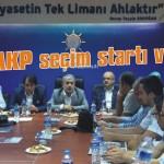 AKP seçim startı verdi