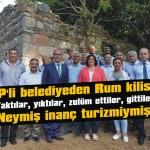 AKP'li belediyeden Rum kilisesi!