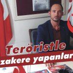 Teröristle müzakere yapanlar…!