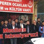 Mecliste PKK istemiyoruz!