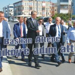 Başkan Altepe Yeniköy'e adım attı!