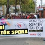 Amatör Spor Haftası kutlanacak