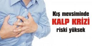 Kışın kalp krizi riski artıyor!
