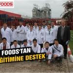 Assan'dan gıda eğitimine destek