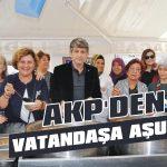 AKP'den vatandaşa aşure!