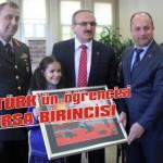 Bursa birincisi Atatürk'ten