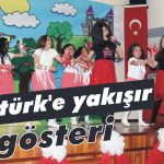 Atatürk'e yakışır gösteri