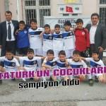 Atatürk'ün çocukları şampiyon oldu