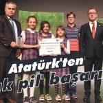 Atatürk'ten 'atık pil' başarısı