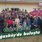 Gürcüler Boğazköy'de buluştu