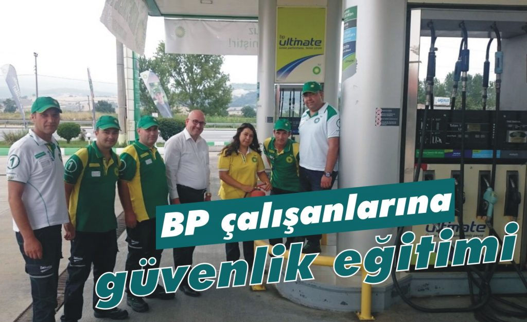 BP çalışanlarına güvenlik eğitimi