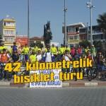 42 kilometrelik bisiklet turu