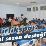 Birlikspor'a yeni sezon desteği!
