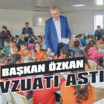 Başkan Özkan mevzuatı aştı!