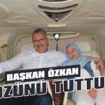 Başkan Özkan sözünü tuttu