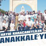 Haydi Karacabeyliler Çanakkale'ye