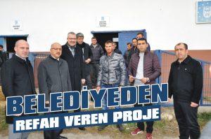 Belediyeden refah veren proje