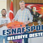 Esnafspor'a belediye desteği