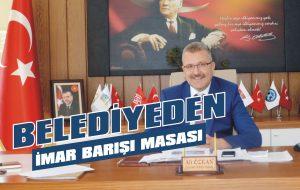 Belediyeden imar barışı masası