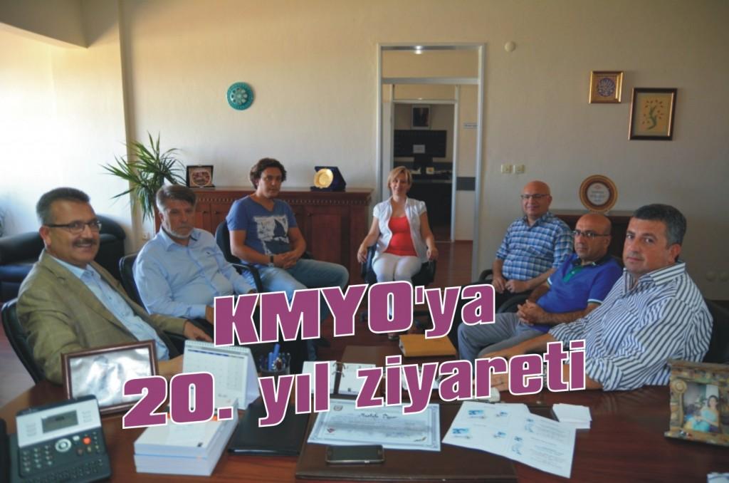 KMYO'ya 20. yıl ziyareti