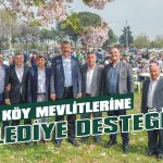 Köy mevlitlerine belediye desteği