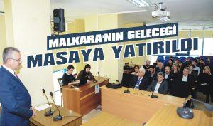 Malkara'nın geleceği masaya yatırıldı