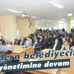 Modern belediyecilik yönetimine devam