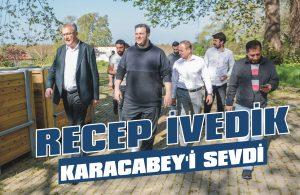 Recep İvedik Karacabey'i sevdi