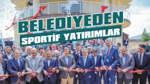 Belediyeden sportif yatırımlar