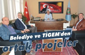Belediye ve TİGEM'den ortak projeler