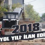 2018 'yol yılı' ilan edildi