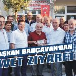 Başkan Bahçavan'dan davet ziyareti