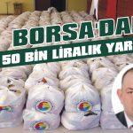 Borsa'dan 50 bin liralık yardım