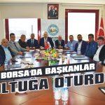 Borsa'da başkanlar koltuğa oturdu