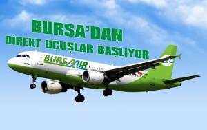 Bursa'dan direkt uçuşlar başlıyor