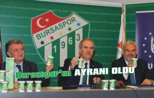 Bursaspor'a ayranlı destek