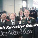 'Silahlı Kuvvetler Günü'nü kutladılar