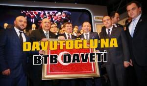 Davutoğlu'na BTB daveti