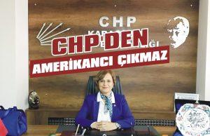 CHP'den Amerikancı çıkmaz